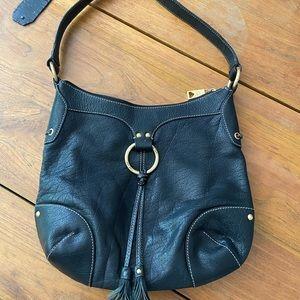 The Sak Pink Label leather Shoulder Bag